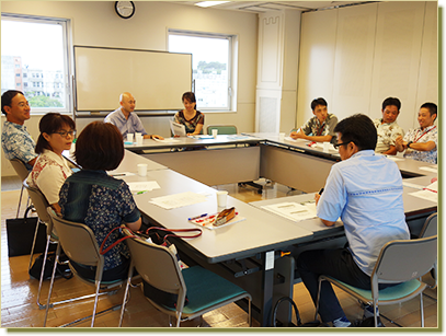 沖縄県総合教育センター特別支援教育班 研修会@soraeソラエ